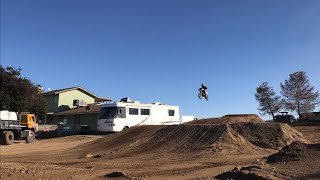 Insane new Dirtbike track with Rocco Piazza