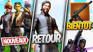NEW SKINS, JOHN WICK EVENT - More on FORTNITE! (Fortnite News)