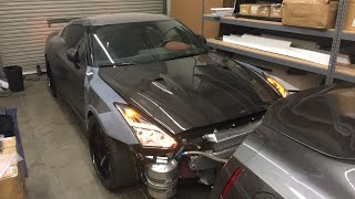 LIVE: Most INTENSE Nissan GTR Lighting build ANYWHERE!