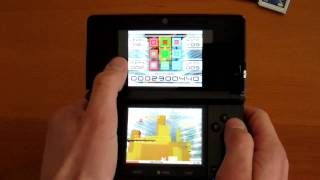 Nintendo 3DS vs DS Lite playing a DS game