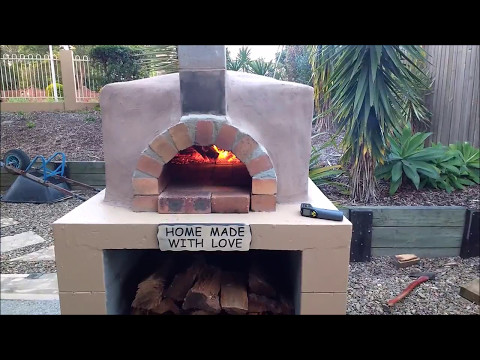 DIY Mortarless Pizza Oven Build