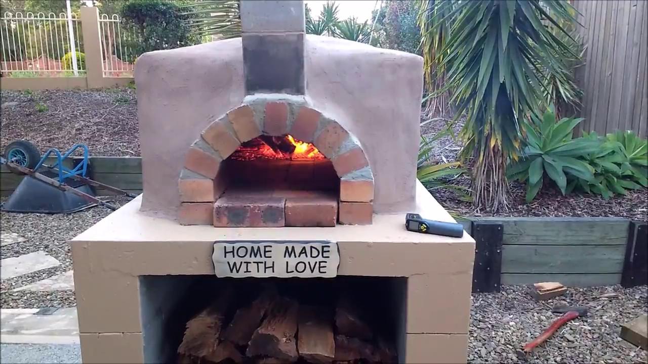 Diy Mortarless Pizza Oven Build Youtube