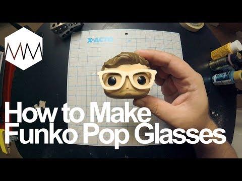 ▲ How to Make Funko Pop Glasses
