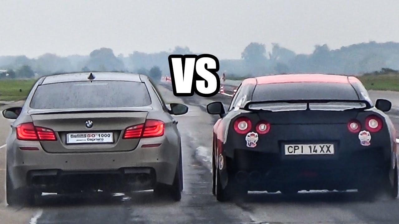 сравнение nissan gt0r и porsche 911 carrera