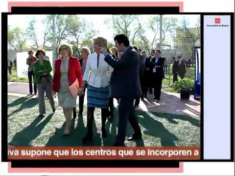 Esperanza Aguirre visita el Instituto de Educación...