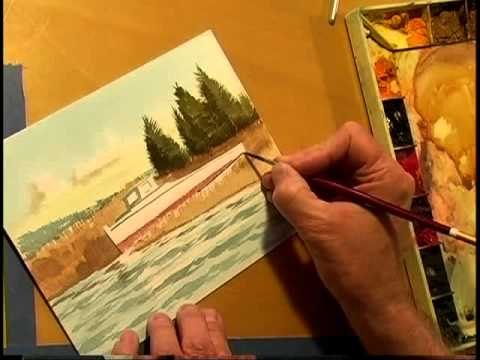 Watercolor Workshop Eps 1 Old Worker