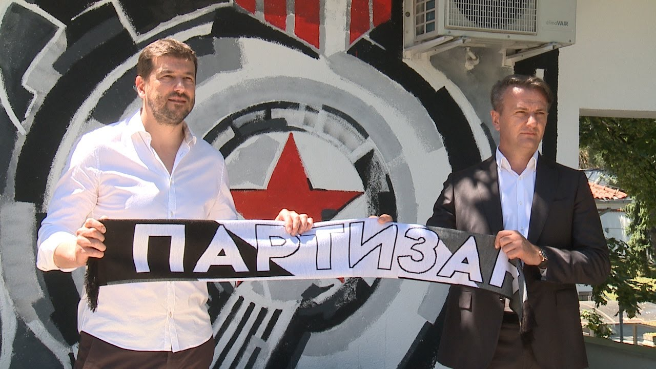 BC Partizan TV: Predstavljanje Vlada Šćepanovića, novog šefa stručnog štaba KK Partizan NIS