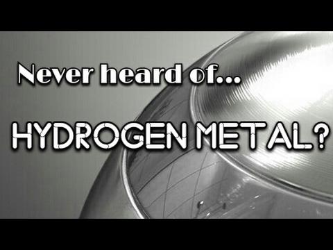 Hydrogen Metal? NEVER Seen Before! Room Temperature Superconductor! (Strange Science)