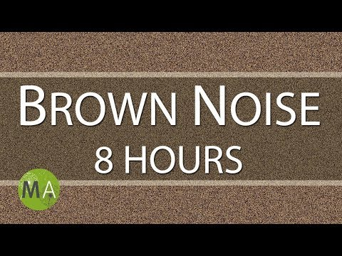 Brown Noise 8 Hours, for Relaxation, Sleep, Studying and Tinnitus
