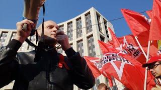 Пора менять ВЛАСТЬ! УДАЛЬЦОВ не побоялся прийти на Марш миллионов в Москве