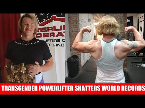 Trans- Powerlifter Breaks Female World Records