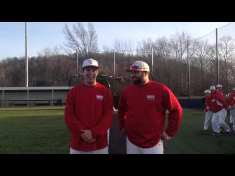 WPI Baseball Post-Game Interview - Evan Lacroix and John Mulready