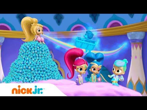 Shimmer and Shine   'Teamwork' 🐯 🐵 Music Video   Nick Jr.