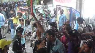Dileep Fans Celebrating Ezhu sundhara raathrikal at Ramdas Theatre Thrissur :)