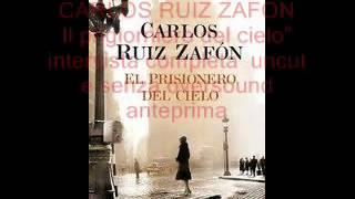 "CARLOS RUIZ ZAFON ""Il prigioniero del cielo""intervista anteprima 3 prt SOUL FOOD RADIO CAPITAL"