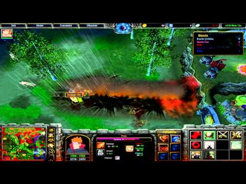 Warcraft 3: Naruto World Ultimate 1.0 S3 Beta 7.5a - Гайд на Пеина - Guide to Pein