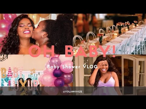 Vlog My Baby Shower South African Youtuber Youtube