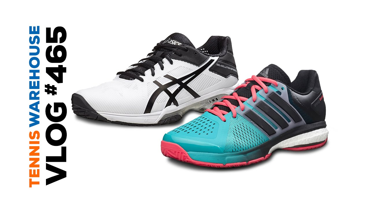 SNEAK PEEK! New adidas, Asics & Head tennis shoes for 2016 - VLOG ...