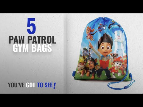 Featured Paw Patrol Gym Bags [2018]: Paw Patrol Trainer / Gym Bag