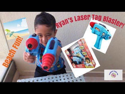 Ryans World Laser Tag Blasters