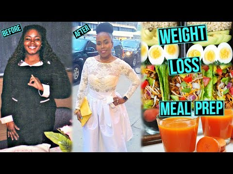 EASY WEIGHT LOSS Meal Prep for BUSY PEOPLE | EASY Breakfast, Lunch, Dinner & Snack Ideas