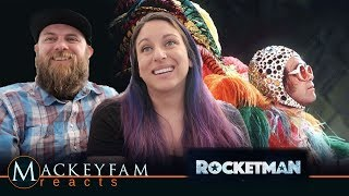 Rocketman (2019) - Official Trailer -REACTION and REVIEW!!!
