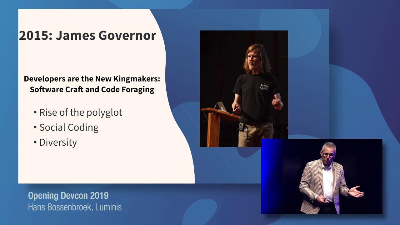 Opening Devcon 2019 - Hans Bossenbroek [Luminis DevCon 2019]