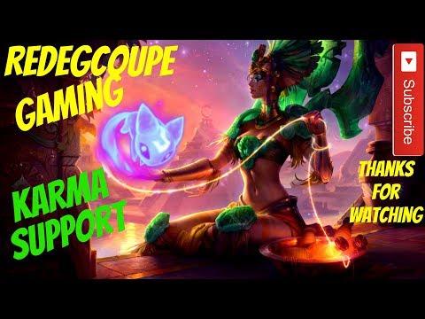 League of Legends: Sun Goddess Karma Support Carry New Rune Aery Pre Season 8 LOL Sorant