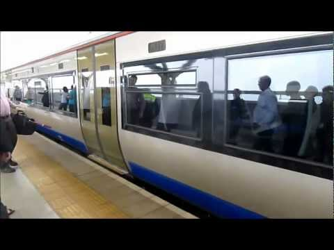 High speed Bombardier train in Johannesburg, South Africa - Gautrain