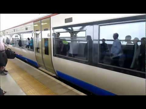 High speed Bombardier train in Johannesburg, South Africa - Gautrain