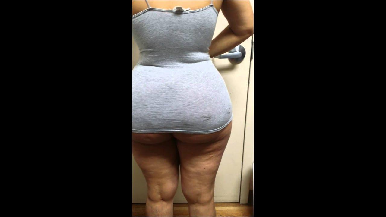 Big fat lingerie model