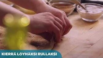 Korvapuustien leipominen