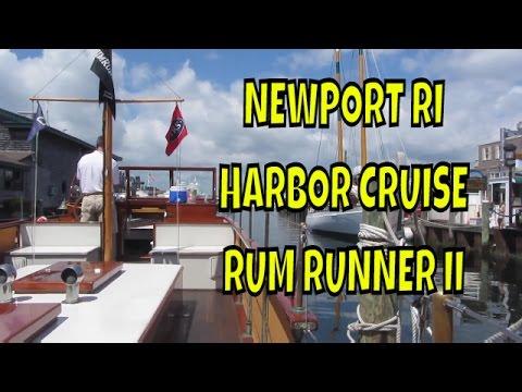 Newport RI Harbor Cruise Rum Runner II ~ Living life to the fullest ~