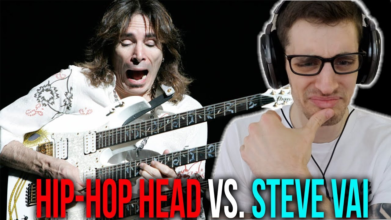 FIRST TIME Hearing STEVE VAI: