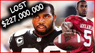 what happened to darren mcfadden? how he lost over 200 million dollars
