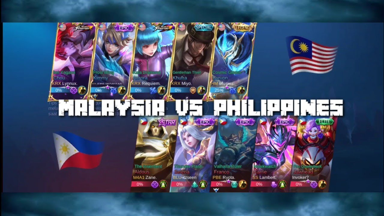 National Arena Contest MLBB | Kimmy Malaysia Maniac Vs. Karrie Philippines