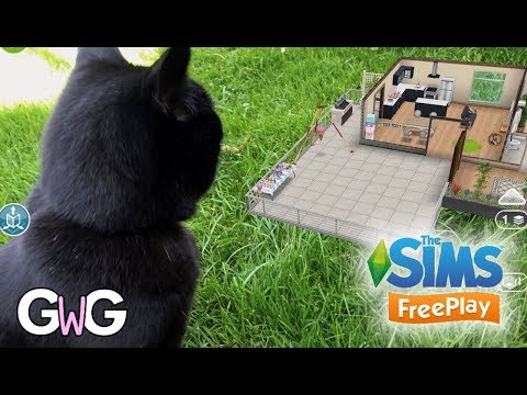 The Sims Freeplay- Augmented Reality Feature!