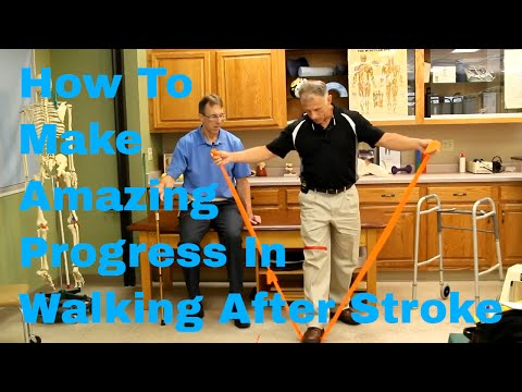 How To Make Amazing Progress In Walking After Stroke