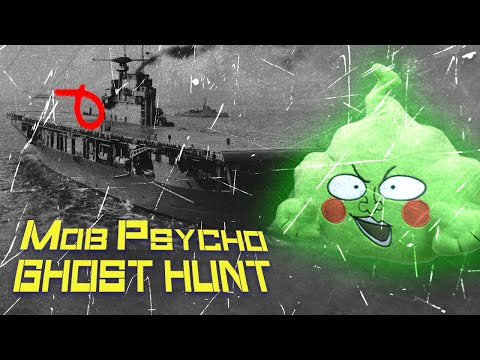 Proof GHOSTS Watch Anime (Mob Psycho 100) While Ghost Hunting