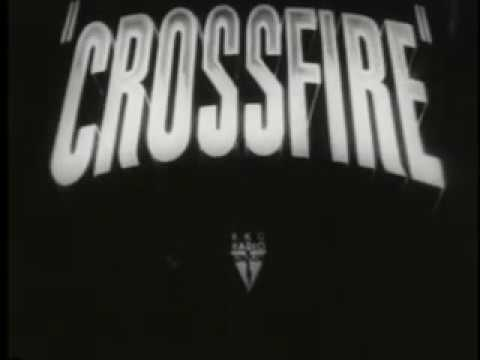 Crossfire (1947) trailer Robert Mitchum Robert Young