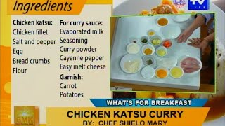 Good Morning Kuya: Chicken Katsu Curry And Crispy Chicken Pineapple Curry Wrap