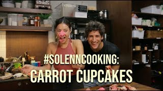 How to Make Carrot Cupcakes | #SolennCooking