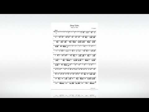N. Lygeros: Deep Taiko. (Study for Taiko), 24/06/2019