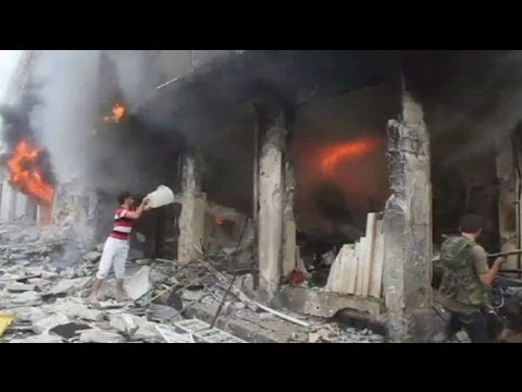 Airstrike on Aleppo - no comment