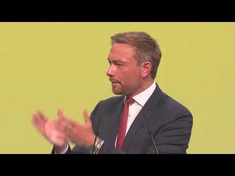 Christian Lindner auf dem 69. Bundesparteitag