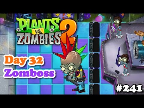 Plants vs. Zombies 2 - Neon Mixtape Tour Day 32 Zombot Multi-stage Masher - Turnê Idade da Juba