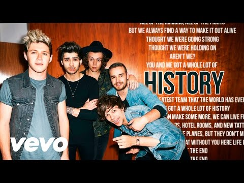 One Direction - History (Karaoke) + Lyrics + Backing Vocals | Vevo
