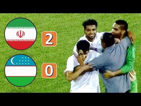 Iran Vs Uzbekistan 2-0 | Cafa Cup U-19 | 9-8-2019