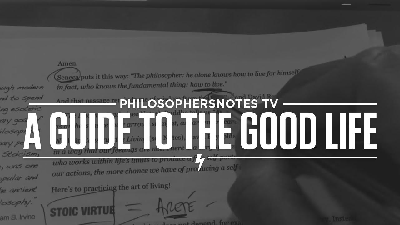 william b irvine a guide to the good life pdf