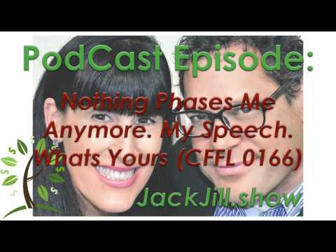 Nothing Phases Me Anymore. My Speech. Whats Yours (CFFL 0166)